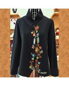 Рисувано дамско сако, Българка