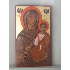 """Икона """"Богородица с младенец"""""""