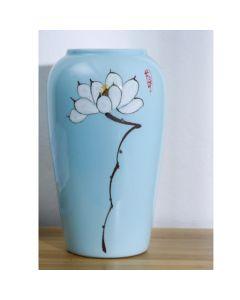 Китайска порцеланова ваза, Синева