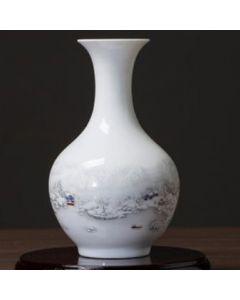 Порцеланова ваза, Съвършена белота