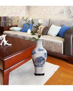 Голяма порцеланова ваза, Синьо очакване