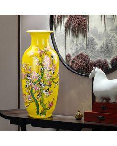 Ръчно рисувана китайска ваза, Пролетна песен
