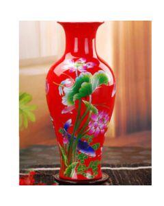 Ръчно рисувана китайска ваза, Огнено вълшебство