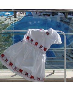 Бродирана детска рокличка, Ловешка шевица