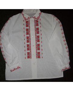 Дамска блуза с българска бродерия