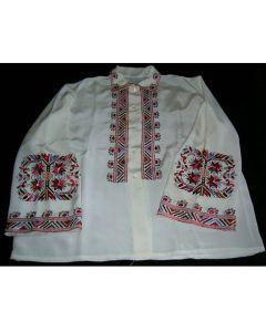 Копринена блуза с бродирана Самоковска шевица