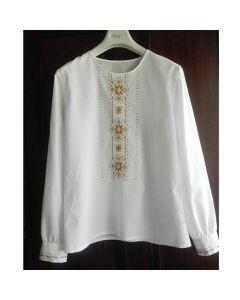Дамска бродирана блуза