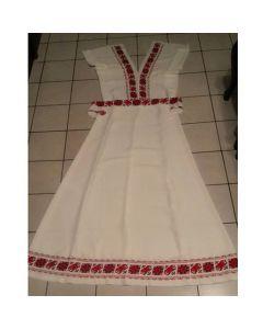 Видинска шевица, ръчна бродерия на абитуриентска рокля