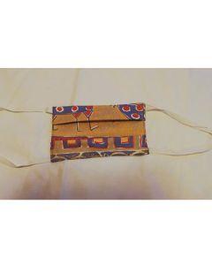 Предпазни двупластови цветни маски от  Памук, Ева