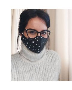 Трипластови предпазни текстилни маски, Крис - 10 бр