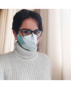 Трипластови предпазни текстилни маски, Крис - 20 бр