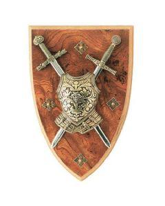 Античен герб във формата на щит