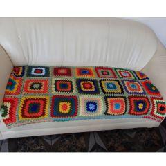 "Ръчно плетено одеяло ""Пролет"""