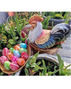 Рисувани керамични Великденски яйца