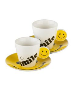 Чаша за кафе, емотикон, усмивка
