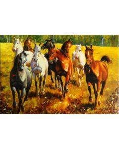 Картина с коне, Във вихъра на свободата