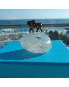 Зодия Овен, миниатюра с полускъпоценен камък