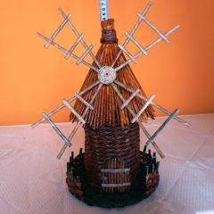Вятърна мелница от хартия