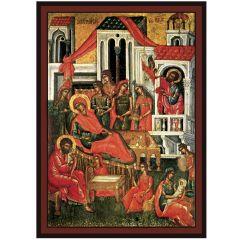 Икона на Рождество Богородично