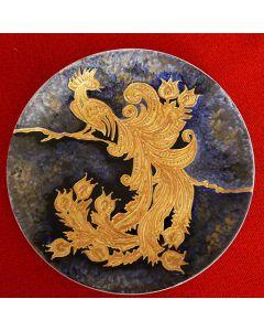 Керамична чиния, Златна птица - Величие