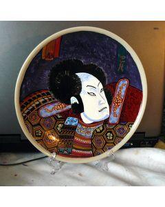 Декоративна рисувана чиния, Японски генерал