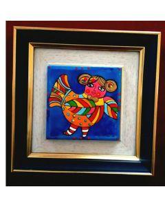 Миниатюрна керамична картина, Годежарка