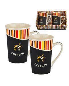 Комплект за кафе, 2 чаши