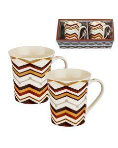 Чаши за кафе и чай, комплект 2 бр.