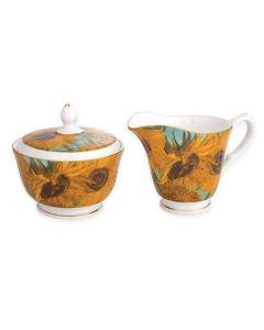 Комплект кана и захарница Слънчогледите на Ван Гог