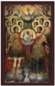 Икона Архангелски събор 3