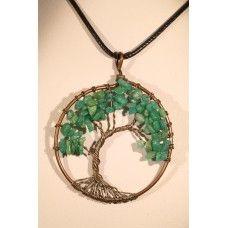 """Колие от амазонит """"Дървото на живота"""""""