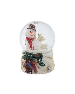 Снежна Коледа, стъклена топка, преспапие