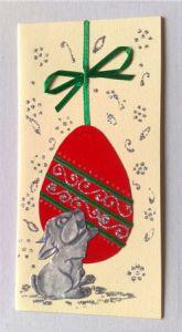 Картичка, Великденски заек