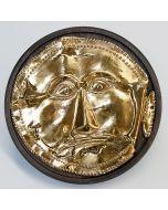 Позлатена маска от Далакова могила