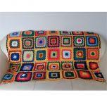 Многоцветно ръчно изработено одеяло, Мисаки