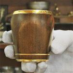 Луксозна чаша за уиски, позлатена