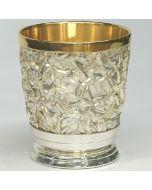 Посребрена чаша за уиски