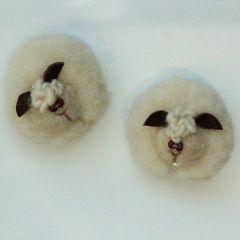 Магнит от плъст, овчица