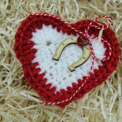 Мартеница сърце за щастие