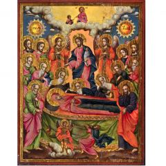 Икона Успение Богородично 5