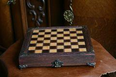 Ръчно изработен шах - уникат