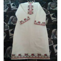 Дамска рокля, българска шевица