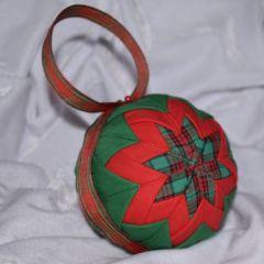 Кадифена коледна топка - Коледна звезда