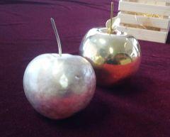 """Пластика """"Ябълка посребрена"""""""