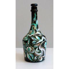 Рисувана бутилка за коняк