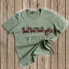 Ръчно рисувана тениска за зодия рак