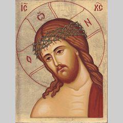 Икона на Иисус Христос с трънен венец